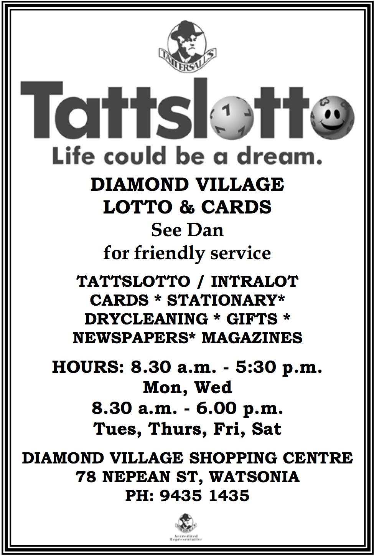 Diamond Village Lotto